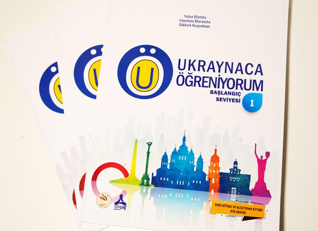 Ukraynaca Öğreniyorum kitabının satışı başladı