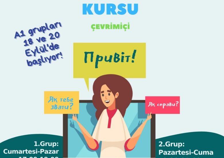 Ukraynaca kursunun kayıtları başladı